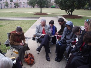 Israel Always emphasizes prayer. More than five years ago, Earl Cox began praying for Israel and the Jewish people near the Holocaust Memorial in Marion Square in his hometown of Charleston, SC. Rain or shine, hot or cold, a small group of hardy believers prays at Marion Square every Thursday morning from 9 AM until Noon. This group formed the foundation of Cox's silent prayer vigil at the Western Wall throughout 2005 where Christians prayed for 8 hours each day for 365 consecutive days.
