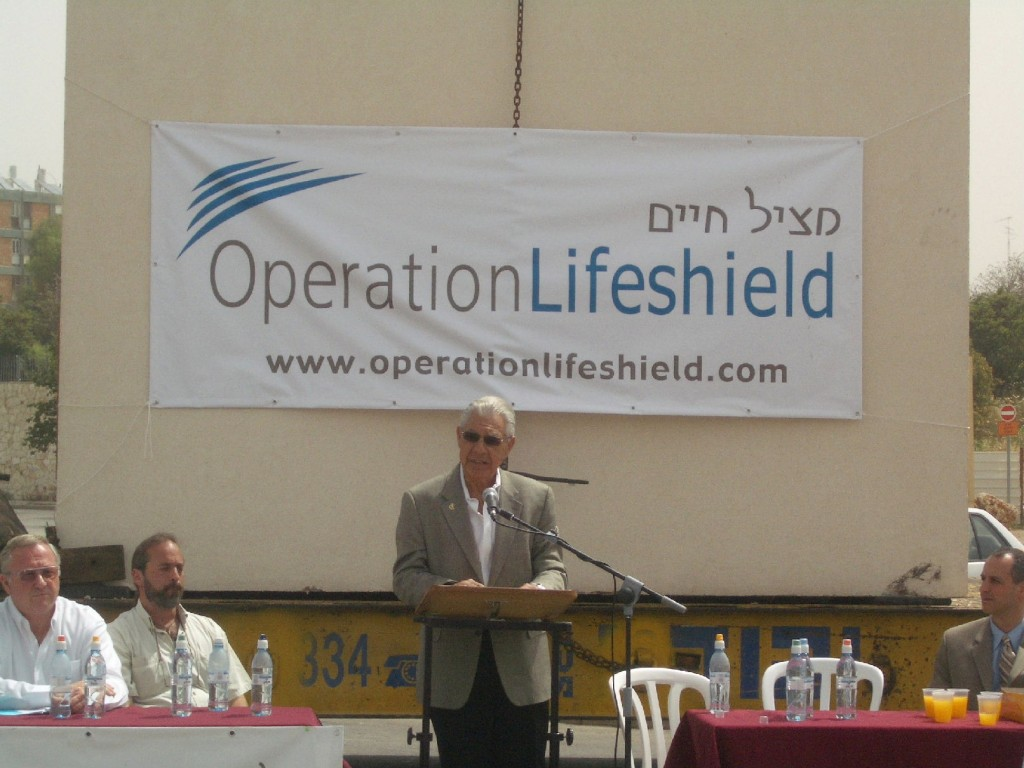 Press-conference-launching-Operation-LifeShield-bomb-shelter-project-to-help-saves-lives-in-Israel-Copy-1024x768